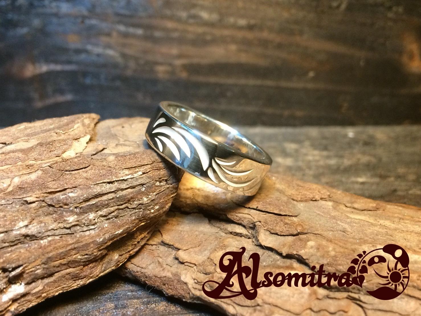 Arabesque Ring(S) - 唐草模様リング(S)