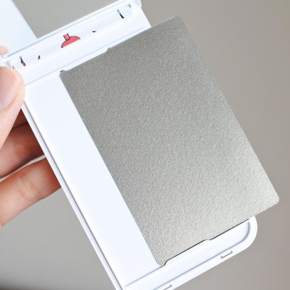 (イニシャルイラスト入り)ミラー付きiPhone用ハードケース - 画像5