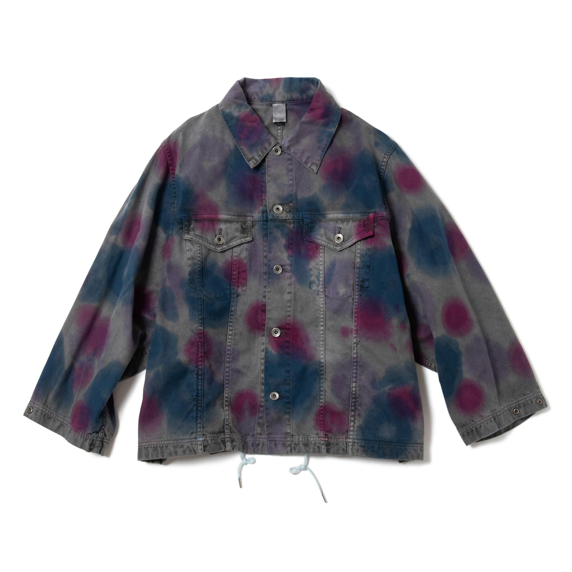MAGIC STICK Type 3 Kimono Jacket Over Dyed ver, TIE DYE