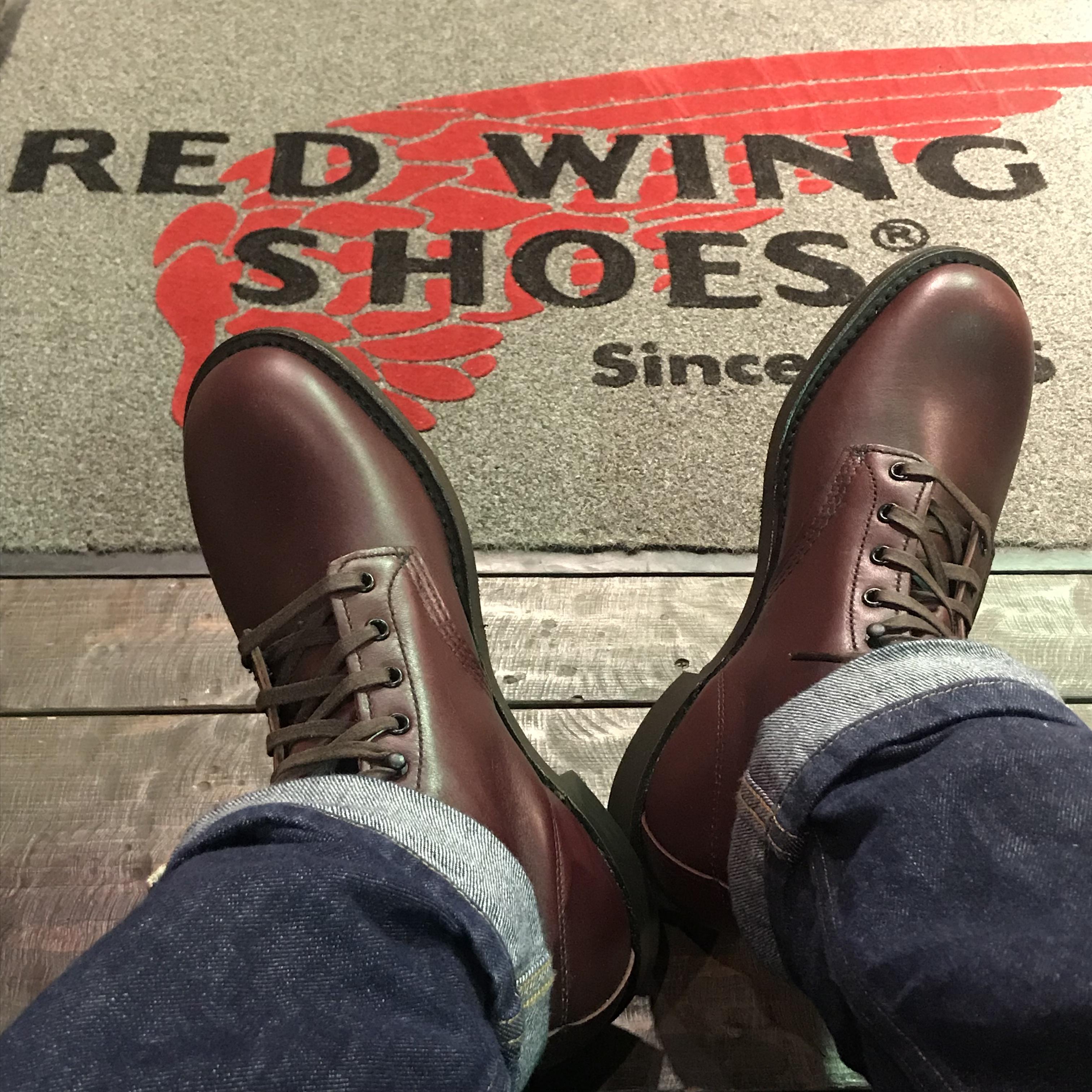 RED WING 9062【新品】レッドウィング Beckman ベックマン Flatbox フラットボックス