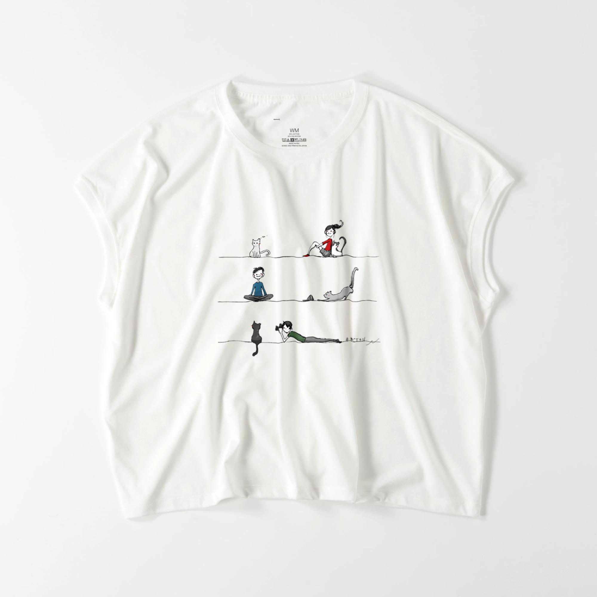 #KTSN×NANA レディースワイドTシャツ