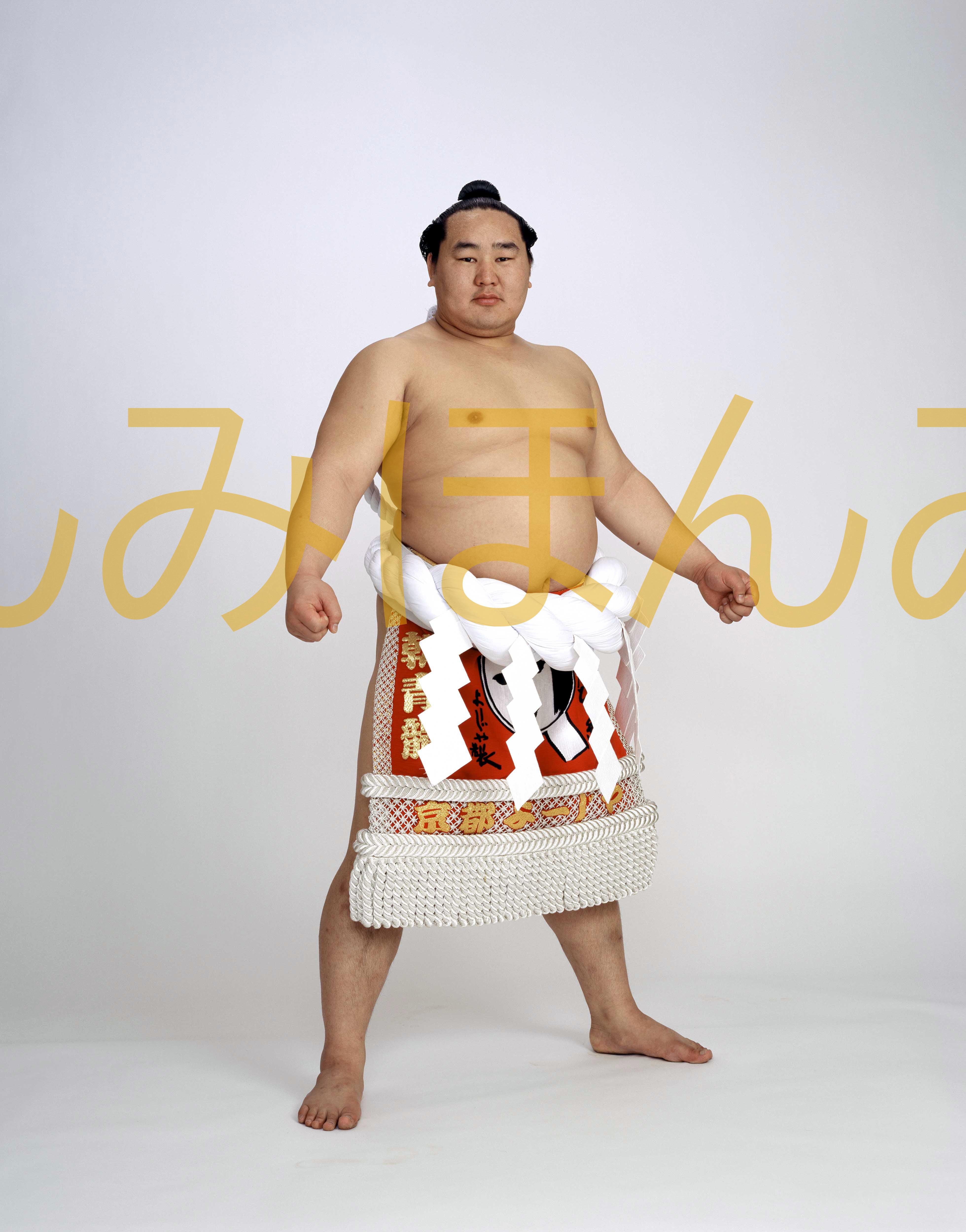 平成19年1月場所優勝 横綱 朝青龍明徳関(20回目の優勝)