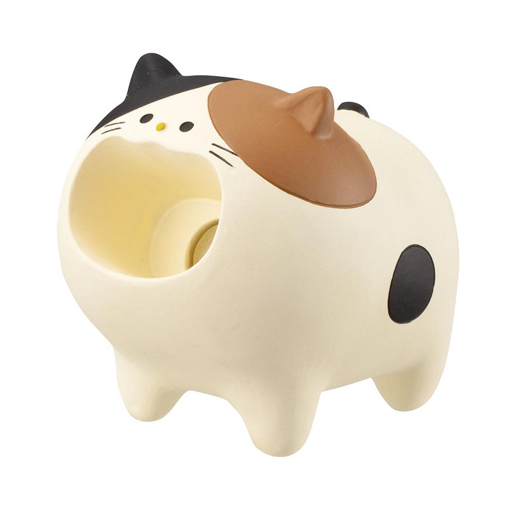 猫クリップホルダー(はらぺこあにまるみけねこ)