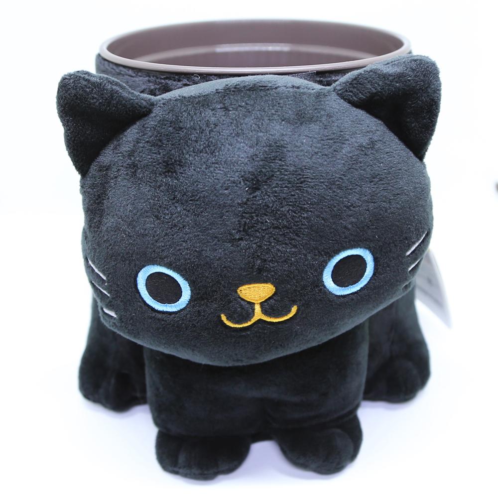 猫ダストボックス(ぬいぐるみダスト)黒