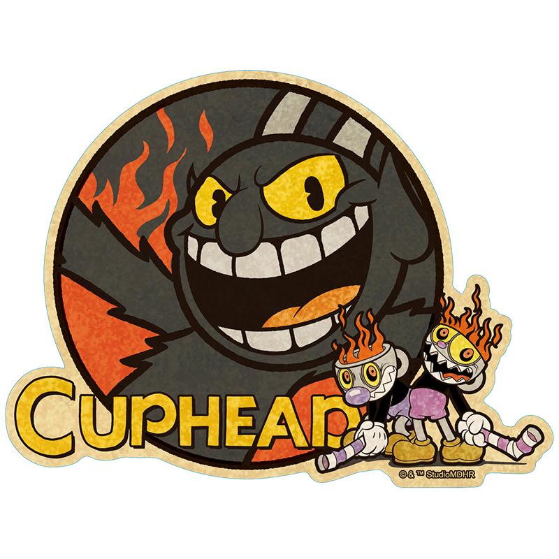 CUPHEAD ( カップヘッド ) トラベルステッカー③ / エンスカイ