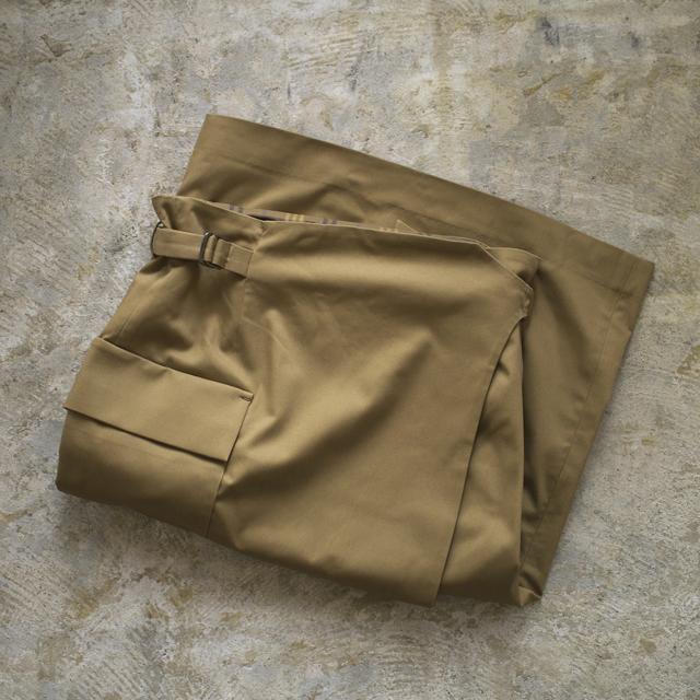 SI-HO SUP シーホースプ チノラップスカート