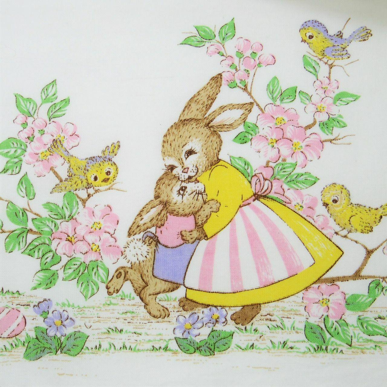 イースタークロス 春らしいピンクのお花(ブラジル製)