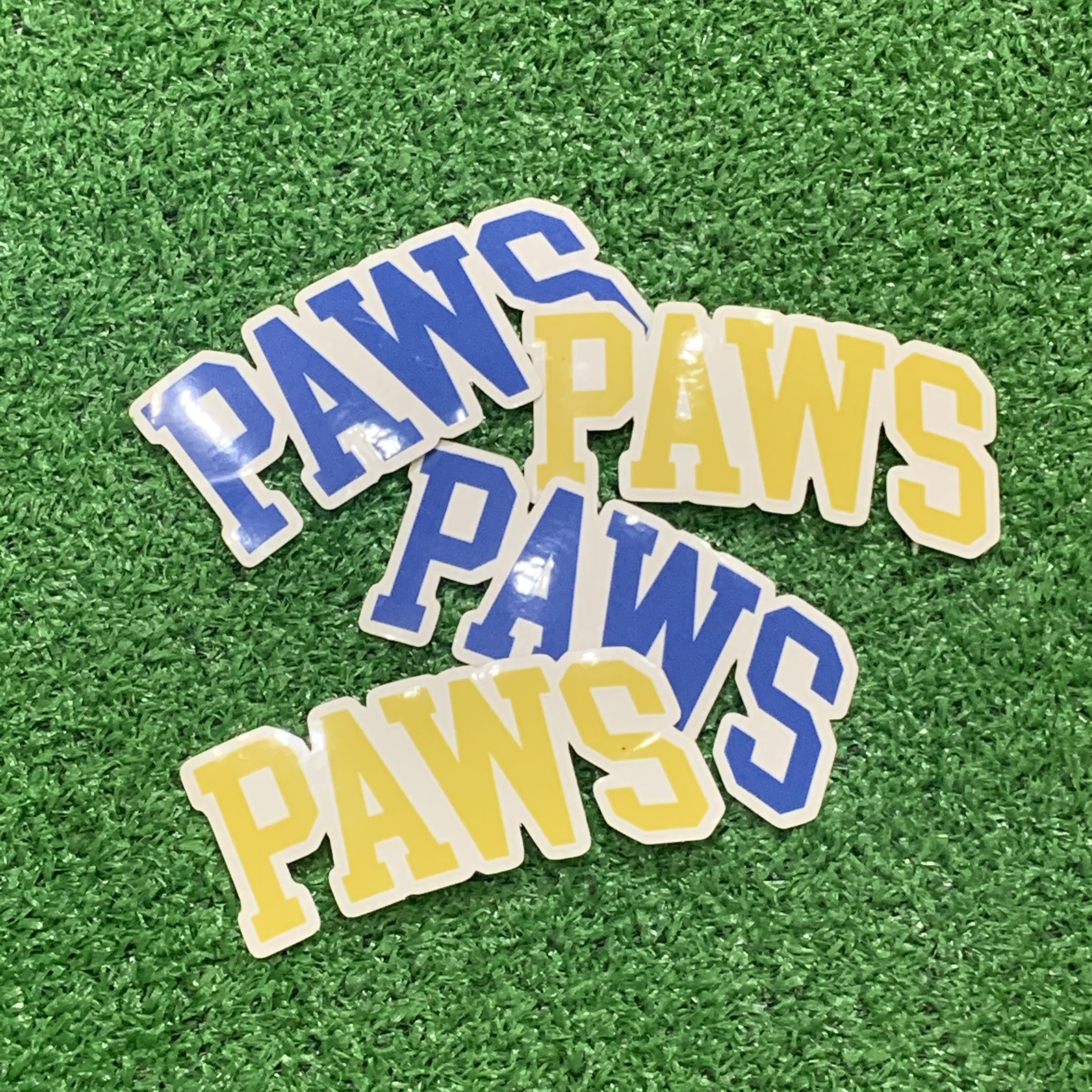 THE PAWS Clear Sticker