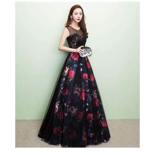79286e19ebfc3 ロングドレス 花柄 演奏会 パーティードレス 結婚式 ドレス ウェディングドレス パーティドレス お呼ばれ ピアノ 発表会 フォーマル ドレス  二次会ドレスpla176
