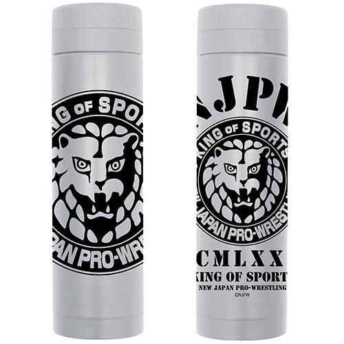 ライオンマーク サーモボトル 270ml  GRAY  [新日本プロレスリング]   / COSPA