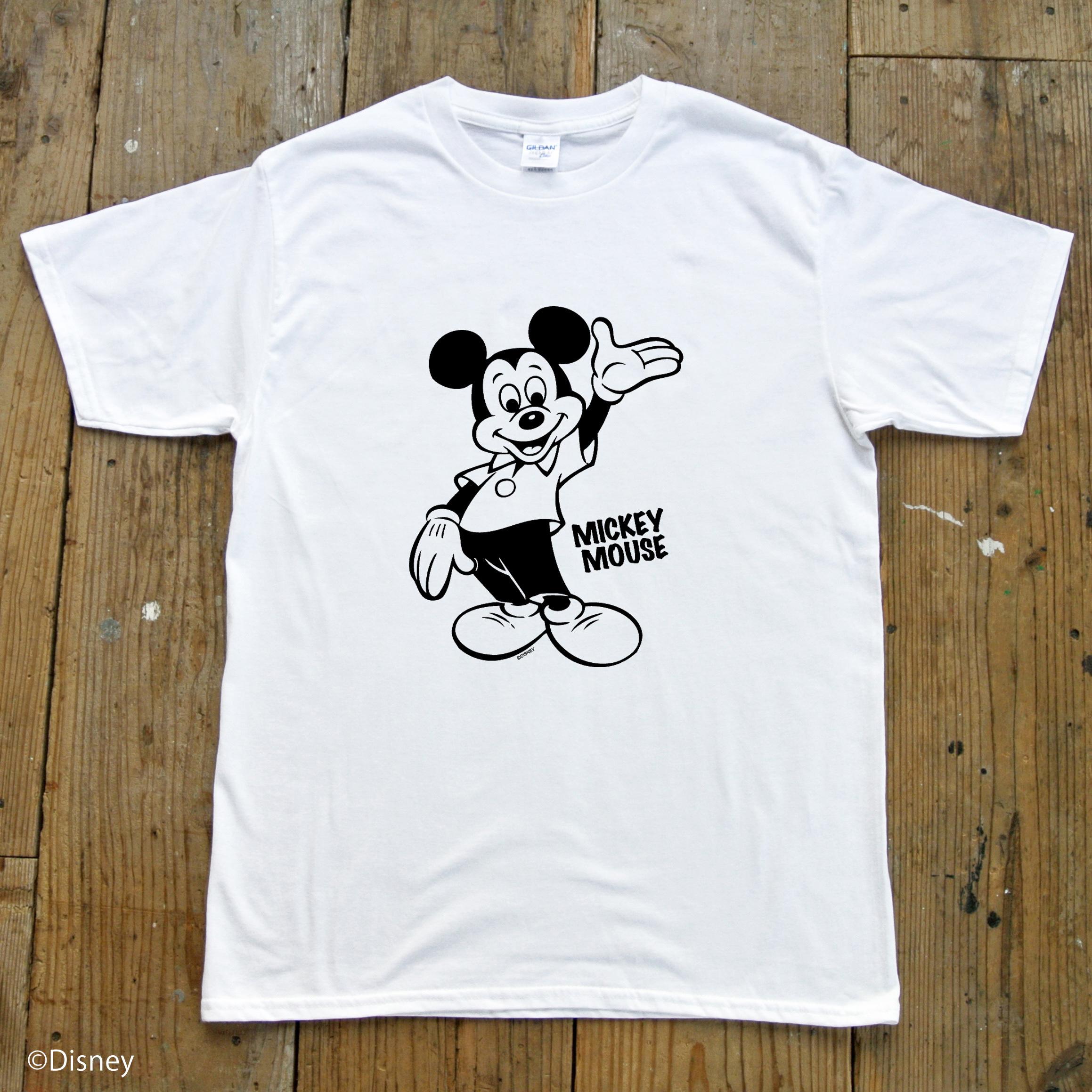 【ディズニーキャラクター】ヴィンテージミッキーマウス/Tee