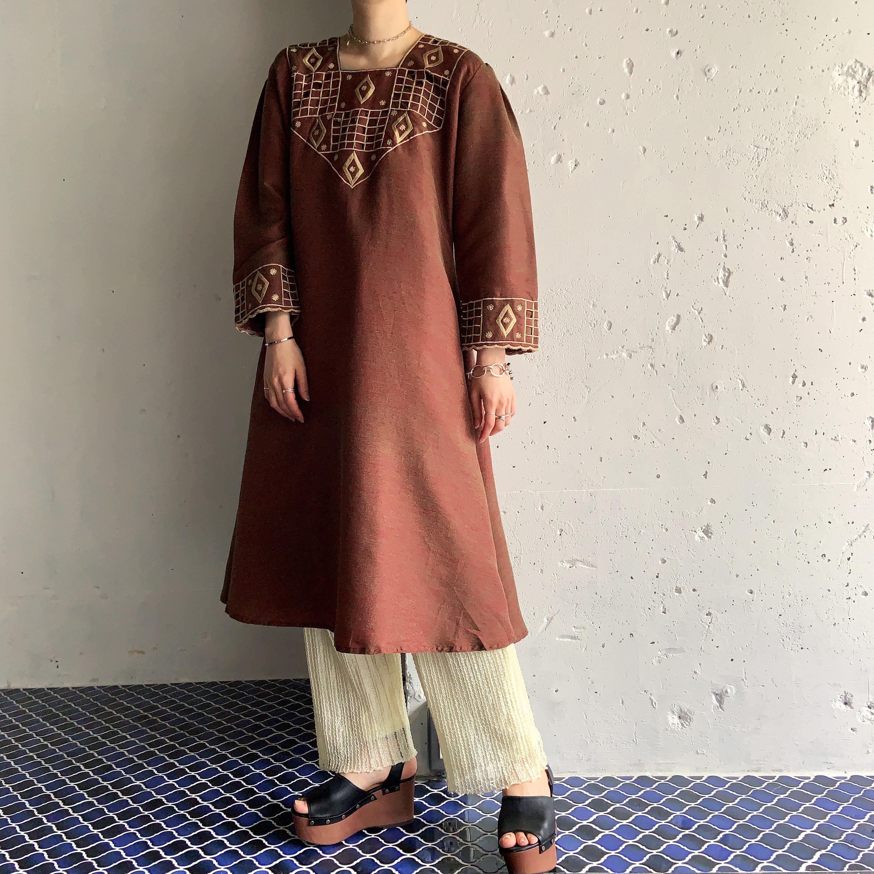 vintage afghan drerss