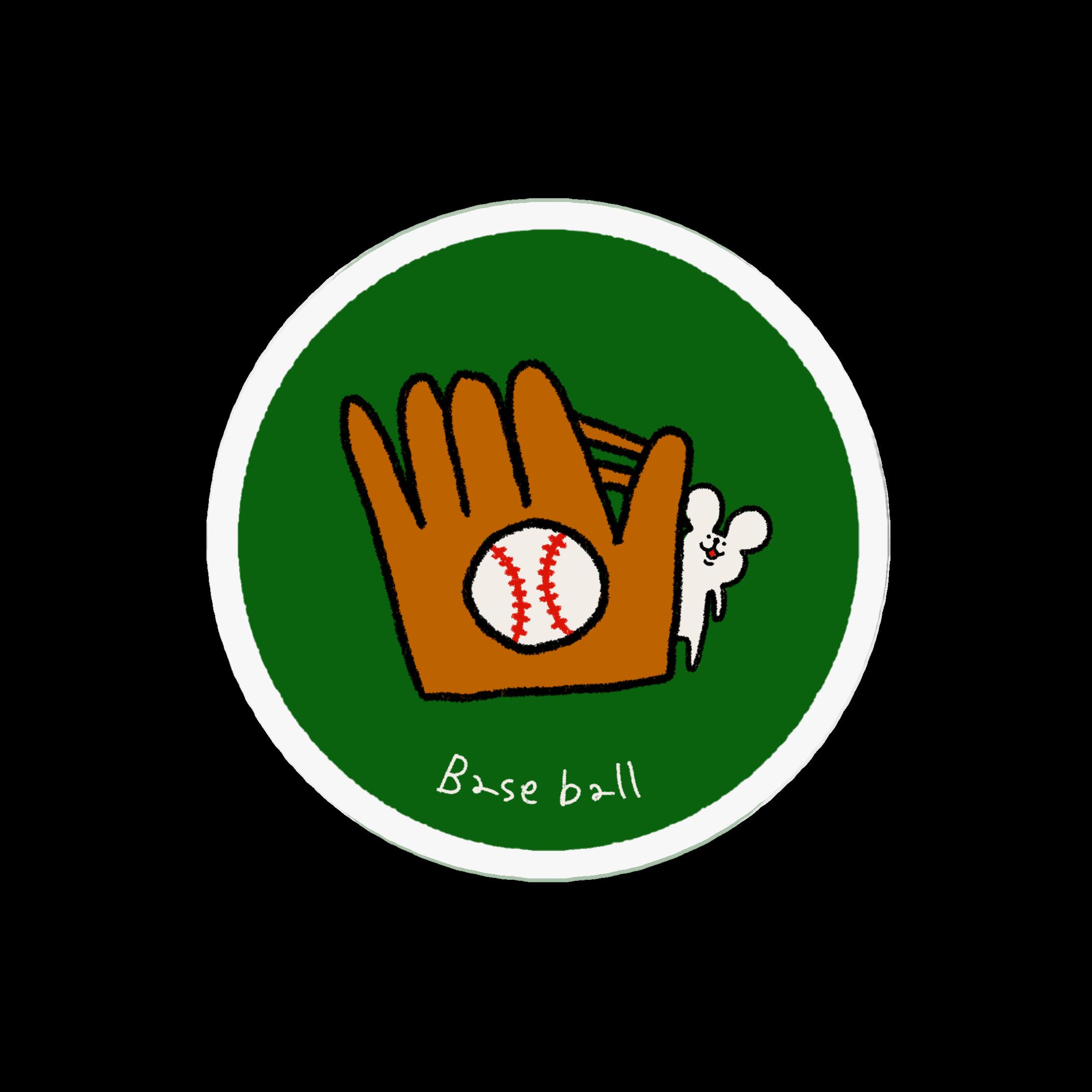 アクリルバッジ|野球が好きなあなたへ