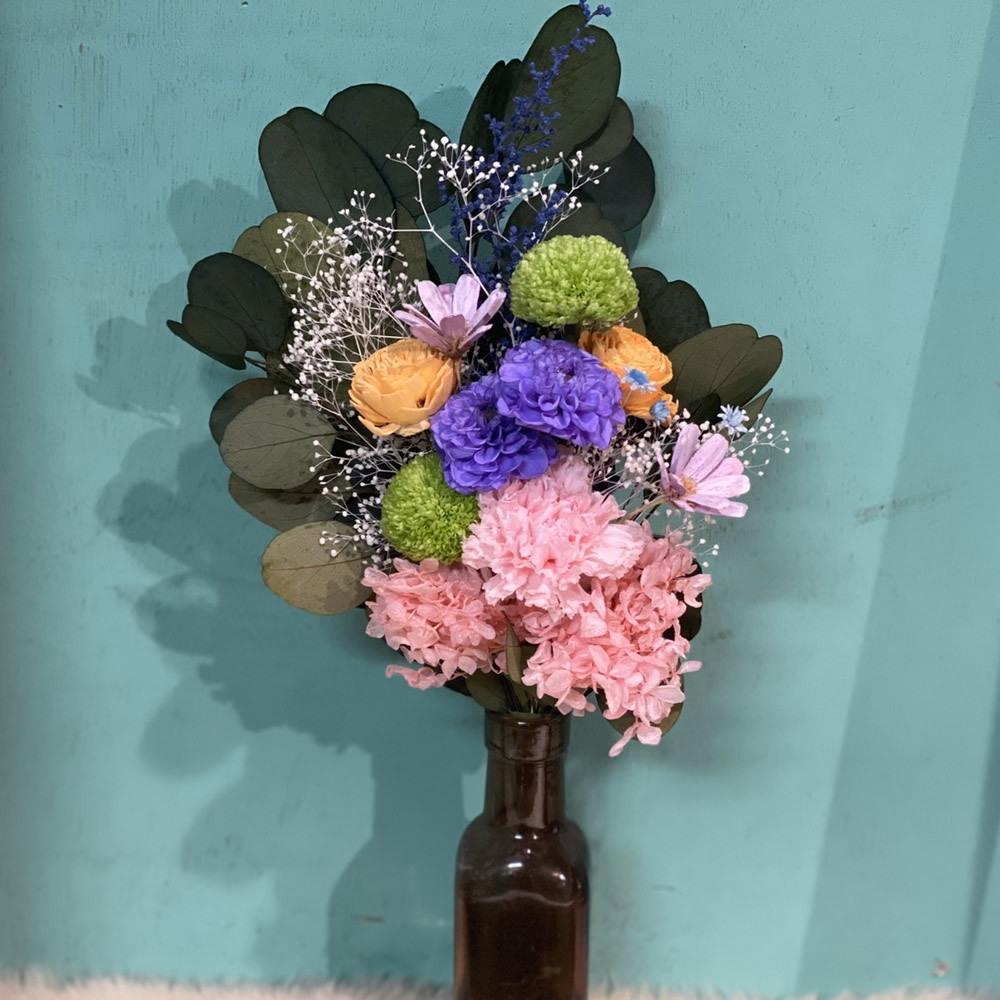 プリザーブドフラワーのお仏花