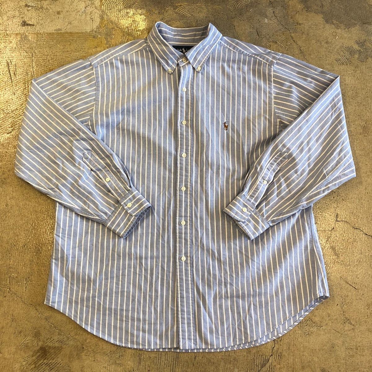 Ralph Lauren Striped L/S Button Down Shirt 1 ¥4600+tax
