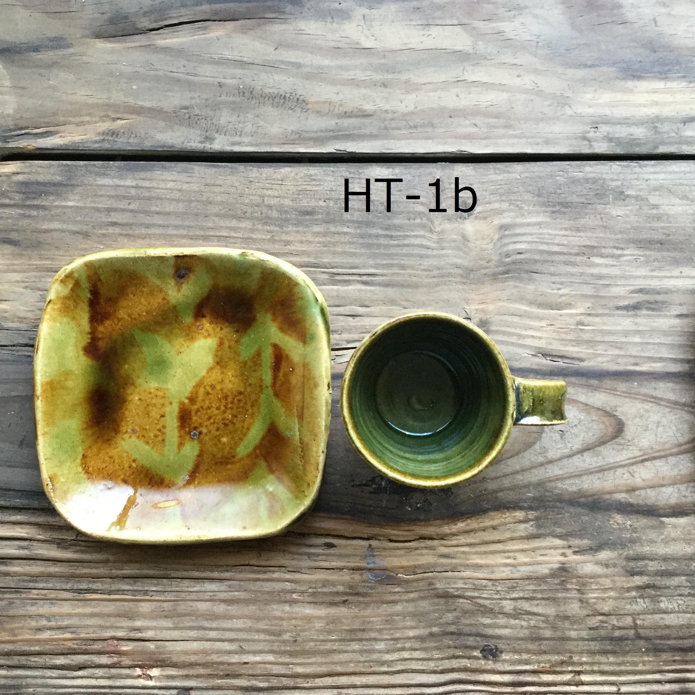 【高内陽彩】 カップ&ソーサー HT-1a/b - 画像3