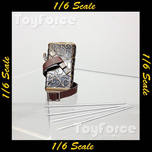 【02295】 1/6 Phicen 矢筒 銀矢
