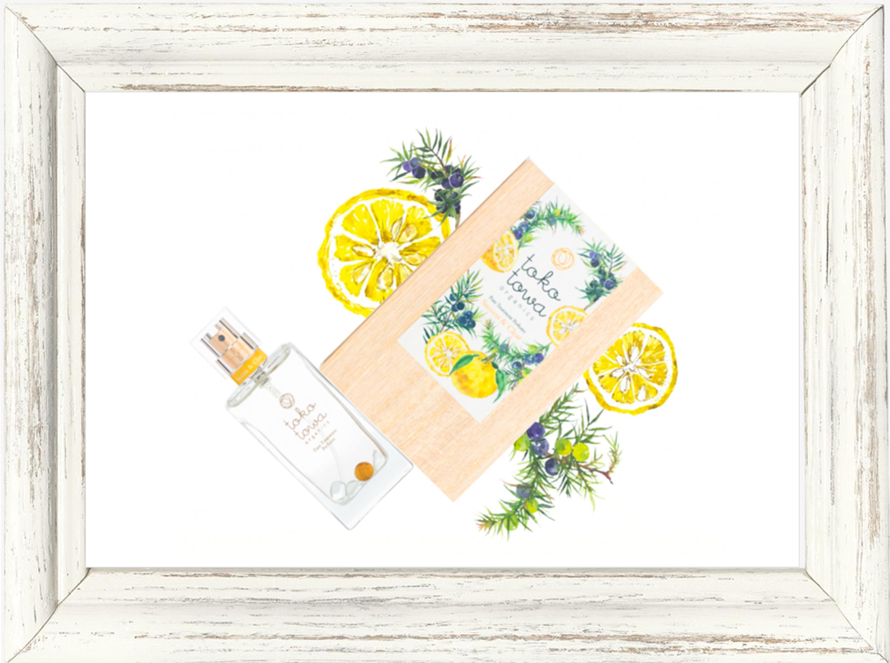 パフューム▶︎tokotowa organics サクセス&クリア(イエロー) 香水 25ml