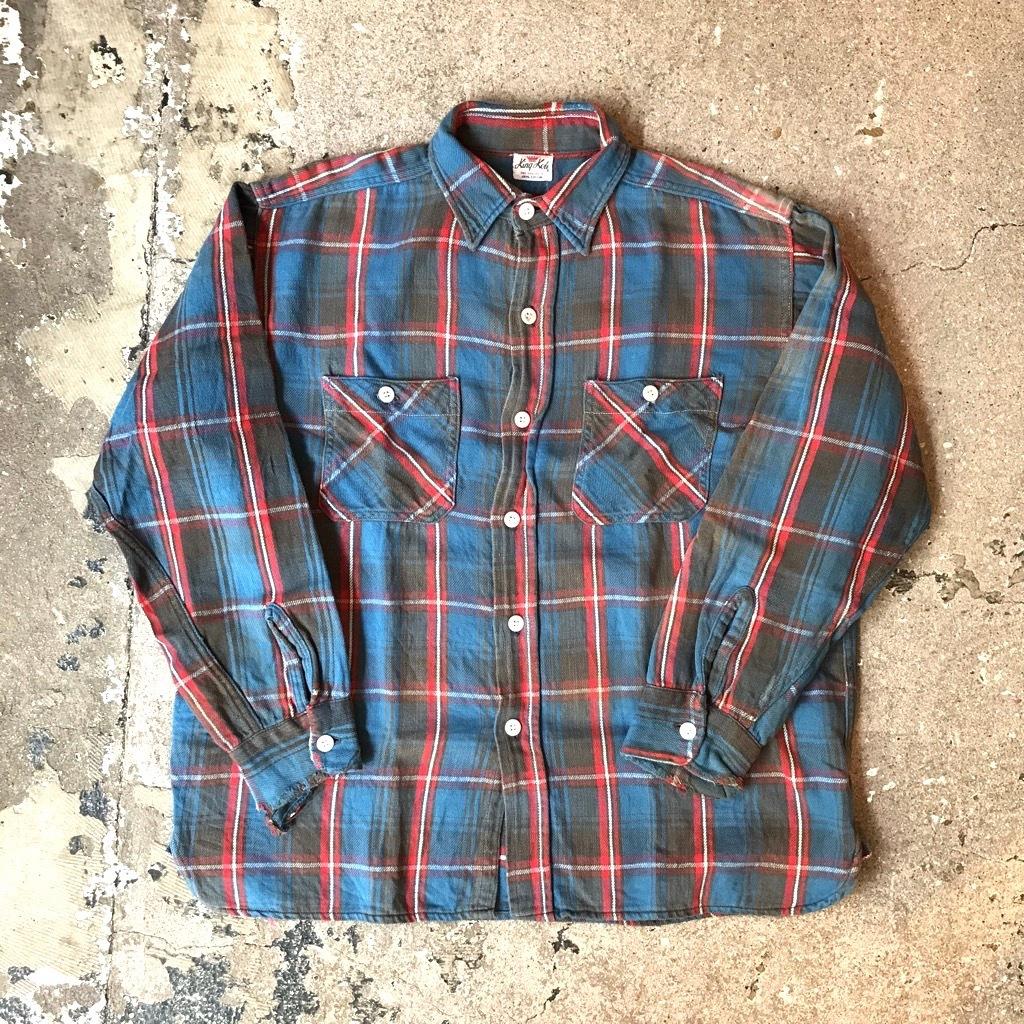 60's King kole Flannel shirts