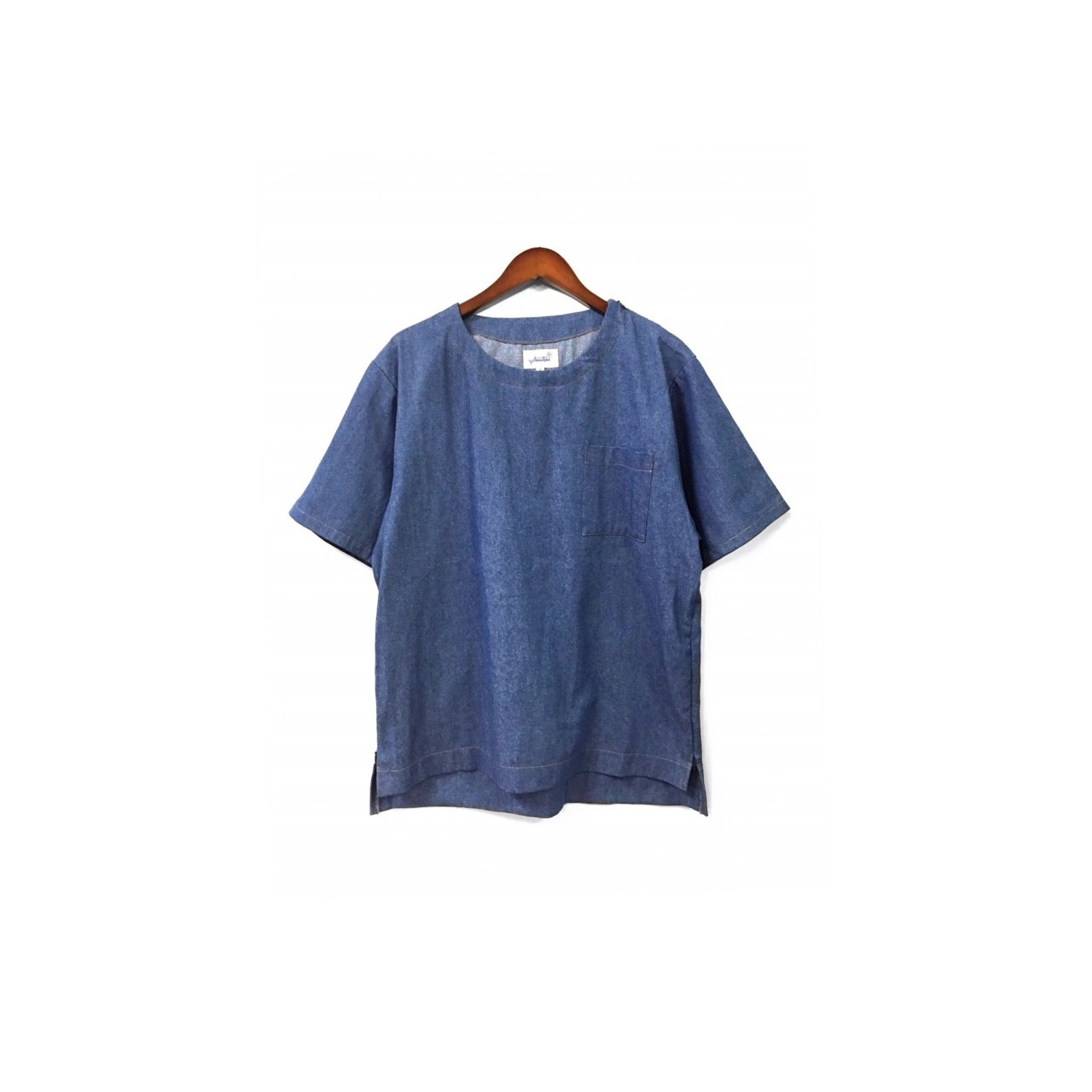 yotsuba - Shortsleeve Denim Tops / Wash ¥12000+tax