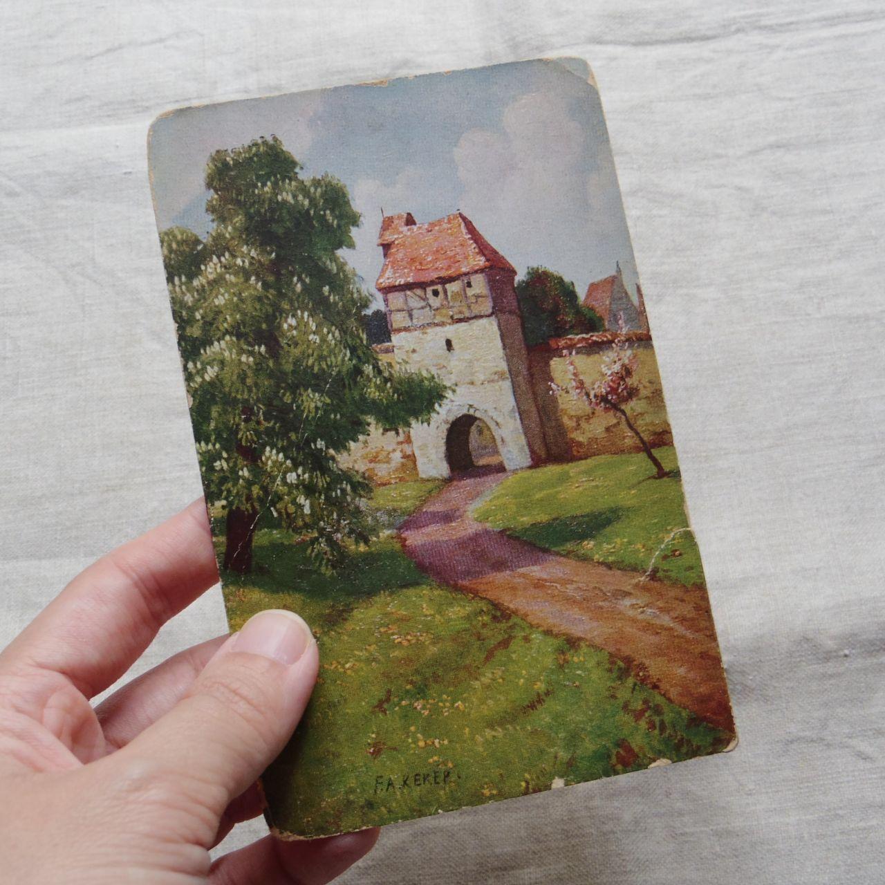 #エア蚤の市 風景のポストカード③