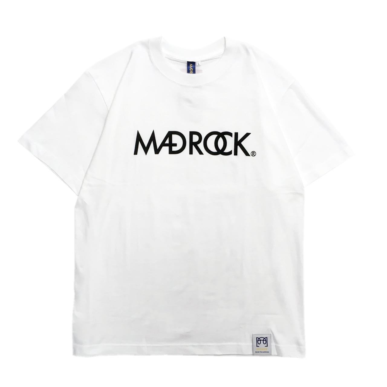 マッドロックロゴTシャツ/コットン/ホワイト