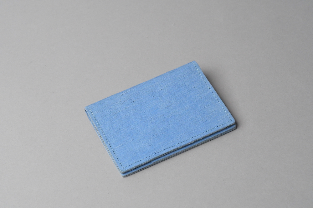 ギフトラッピング無料〇 カードケースSC □コバルトブルー□ - 画像2