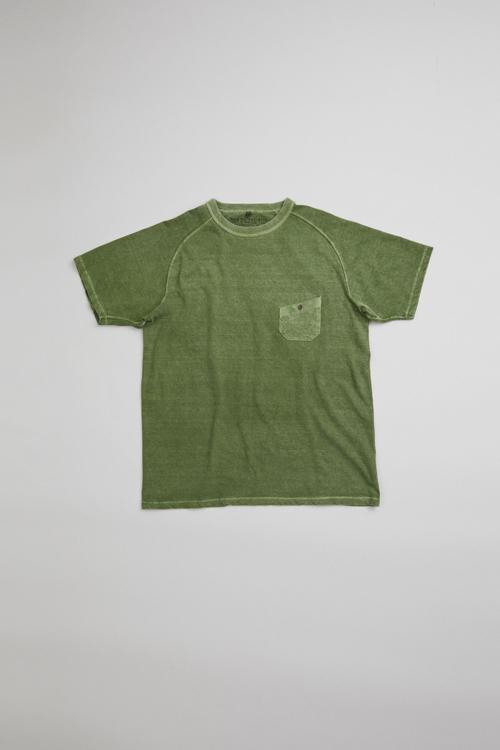 ニュー ベーシックTシャツ / NEW BASIC T-SHIRT PIGMENT DYE
