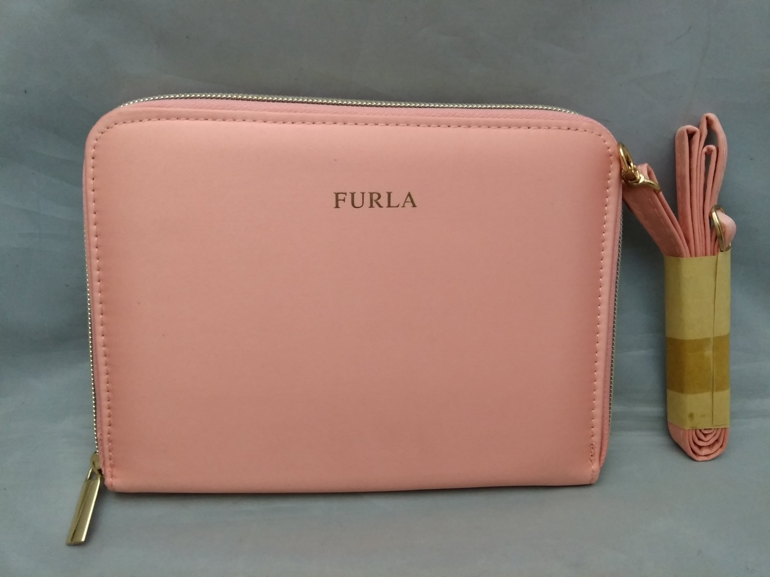 FURLA フルラ マルチケース ミニ ショルダーバッグ ピンク u1050c