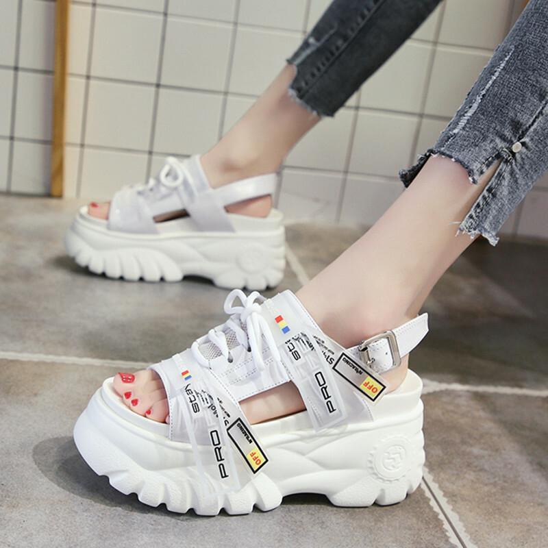 【shoes】ファッション合わせやすい配色サンダル21537571