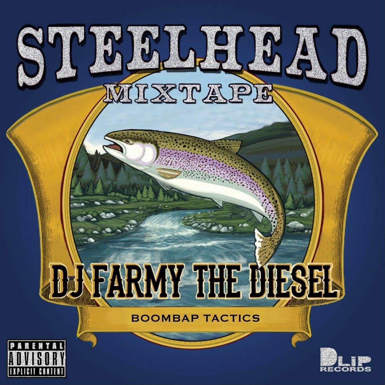 "[MIX CD] DJ FARMY THE DIESEL / 【The Blaq Butta' #001】""STEELHEAD"""