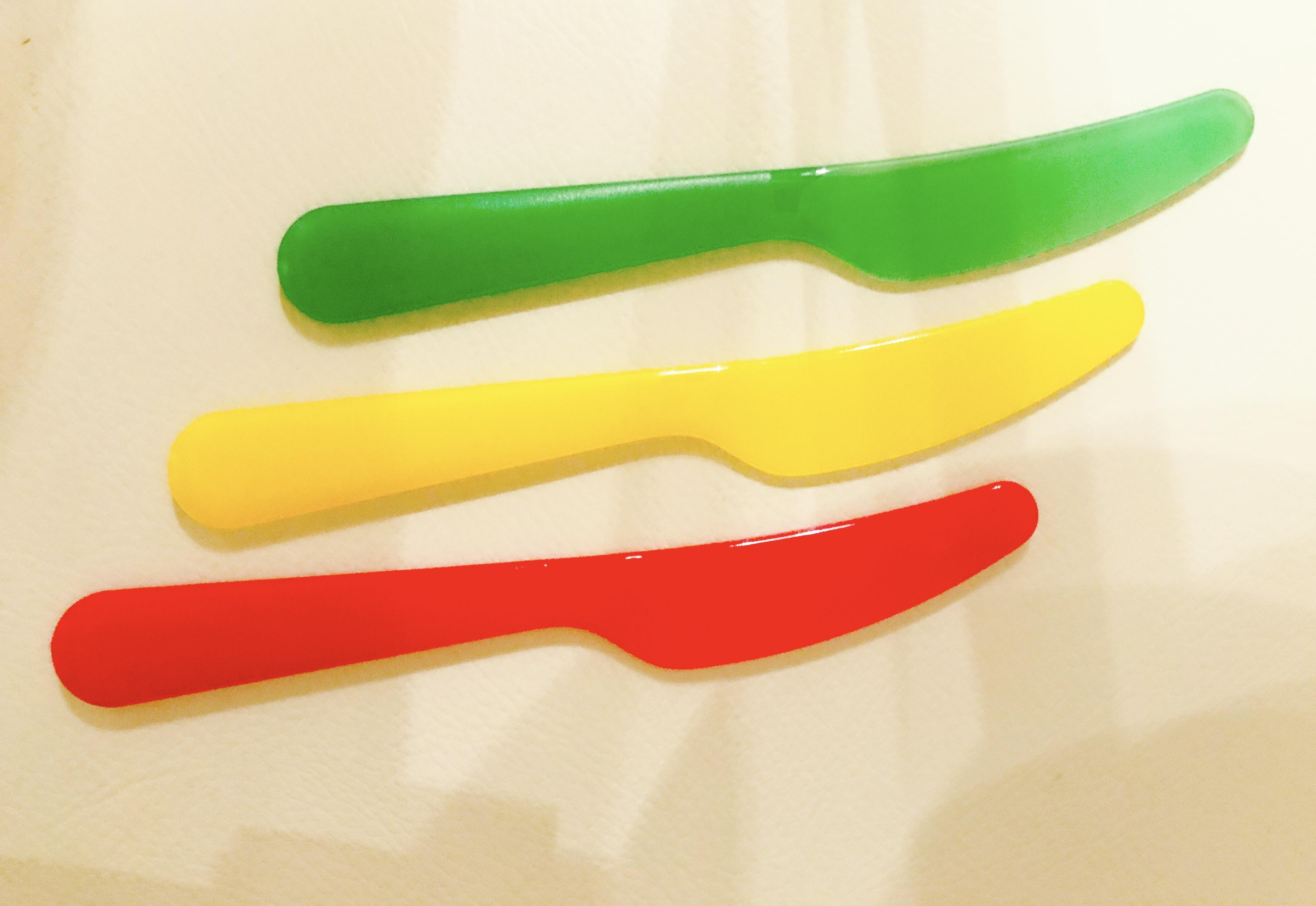 混ぜ棒 攪拌プラナイフ  3本