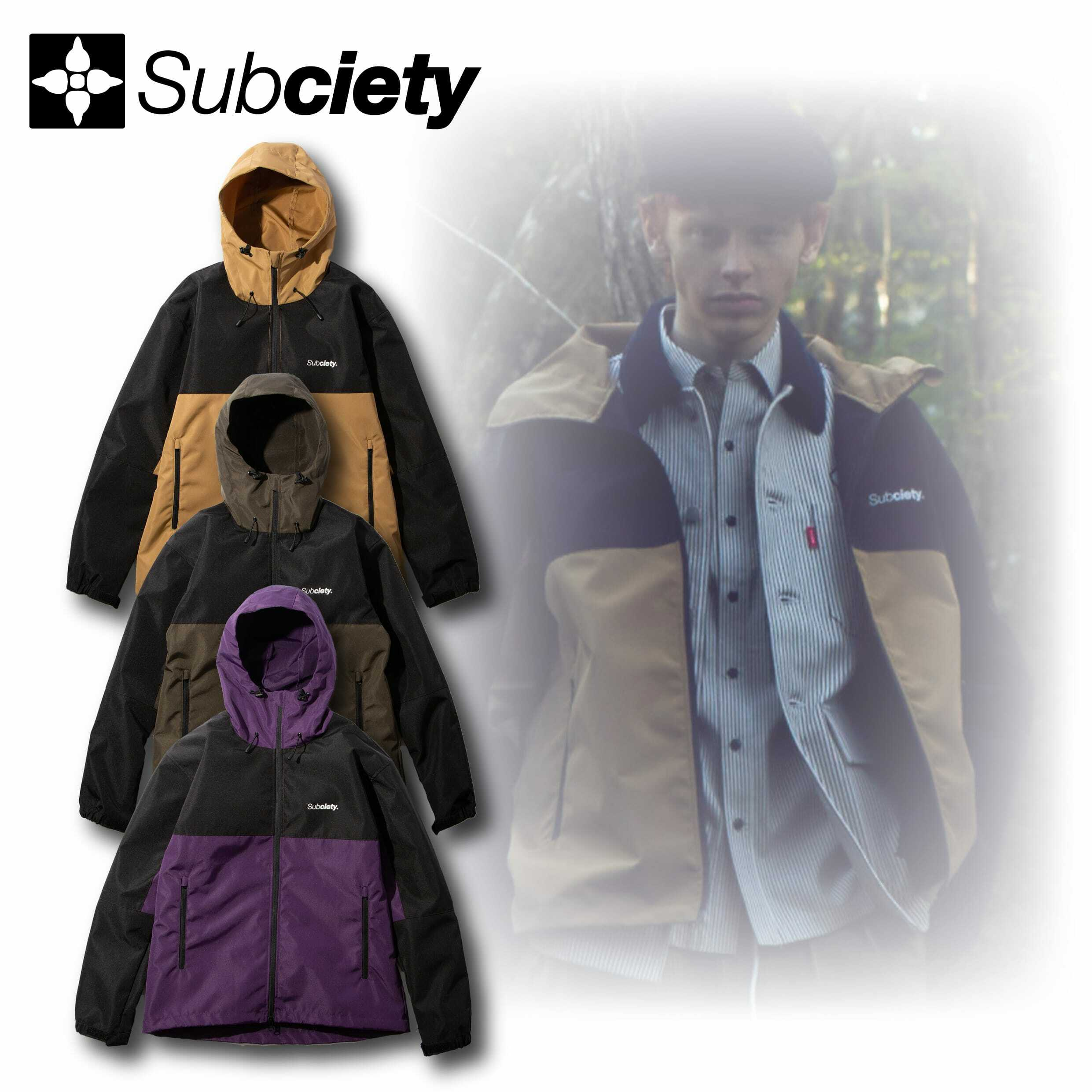 Subciety(サブサエティ) | MOUNTAIN PARKA-THE BASE-