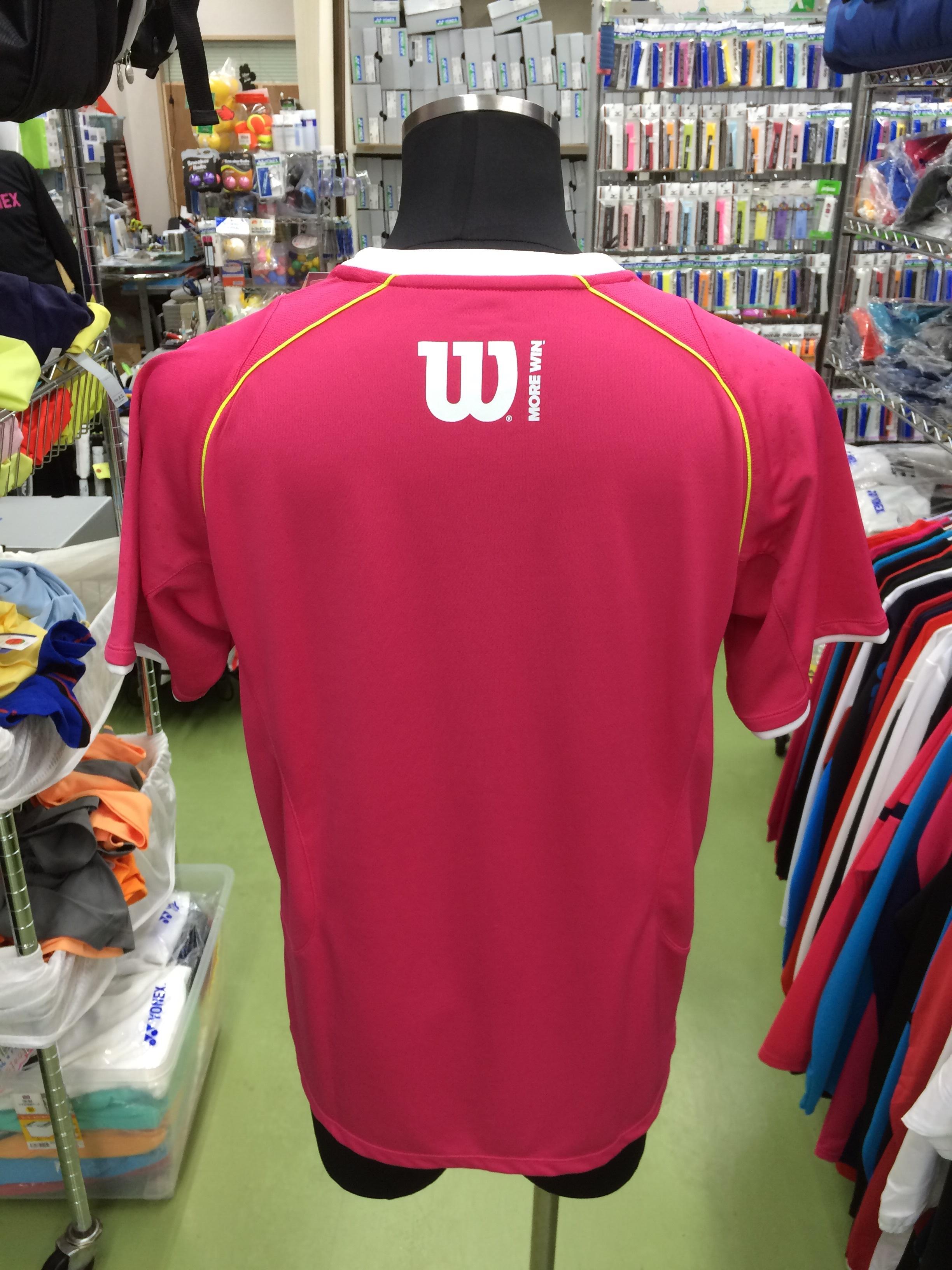 ウィルソン Tシャツ WRJ4402MG - 画像2