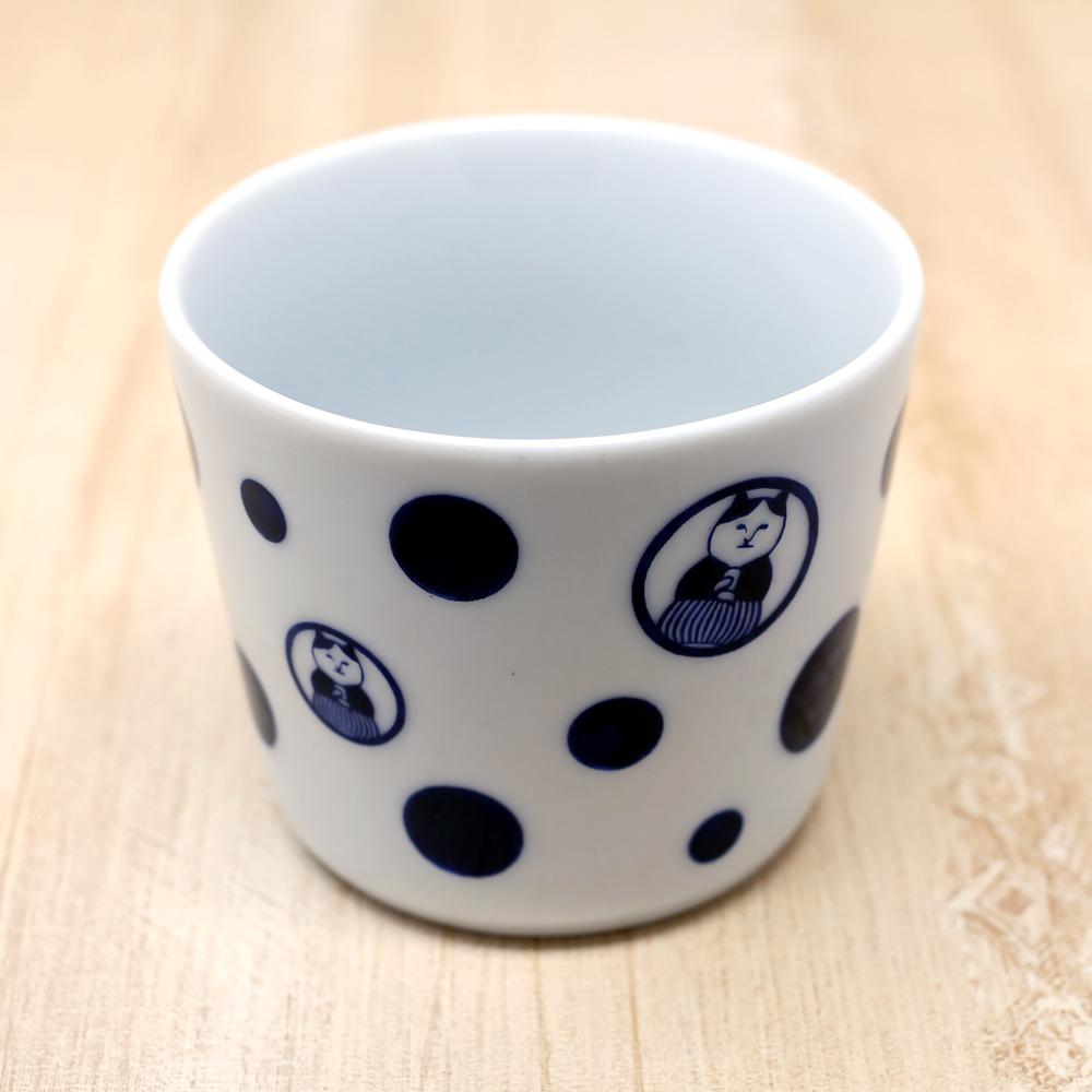 猫そばちょこ(ねこ茶商茶紋ドット)