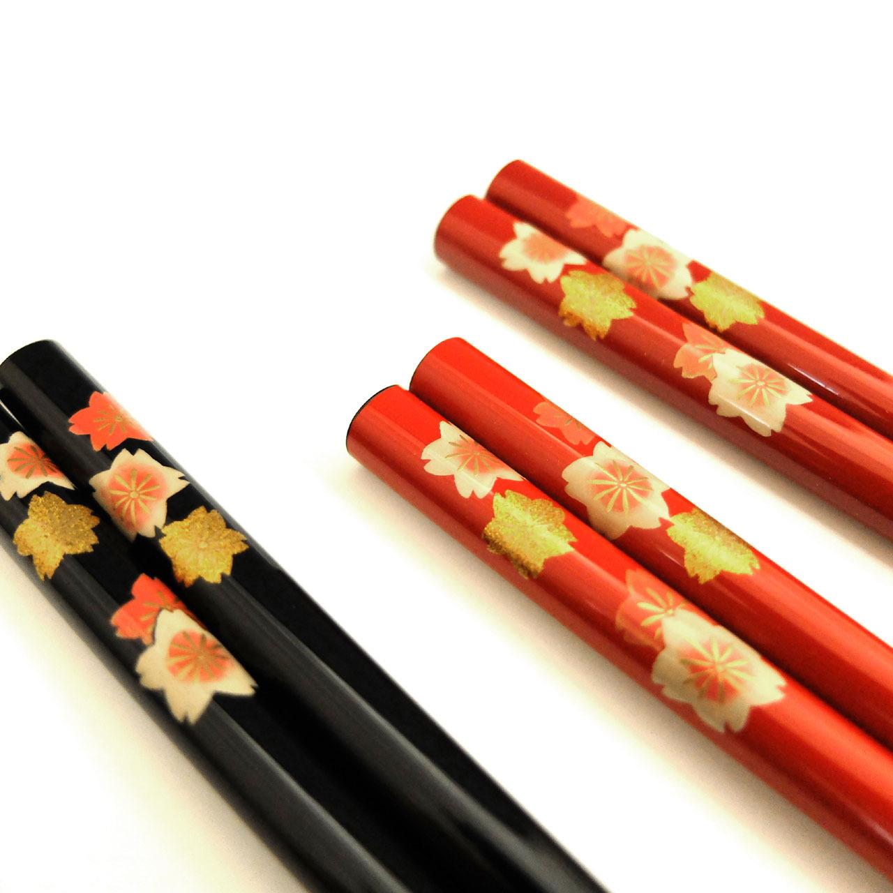14-蒔絵箸 桜
