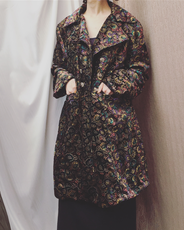 vintage pattern outer
