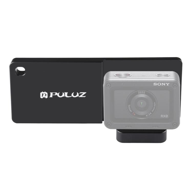 Puluz社  SONY DSC-RX0 スマートフォンジンバル用装着アダプタープレート
