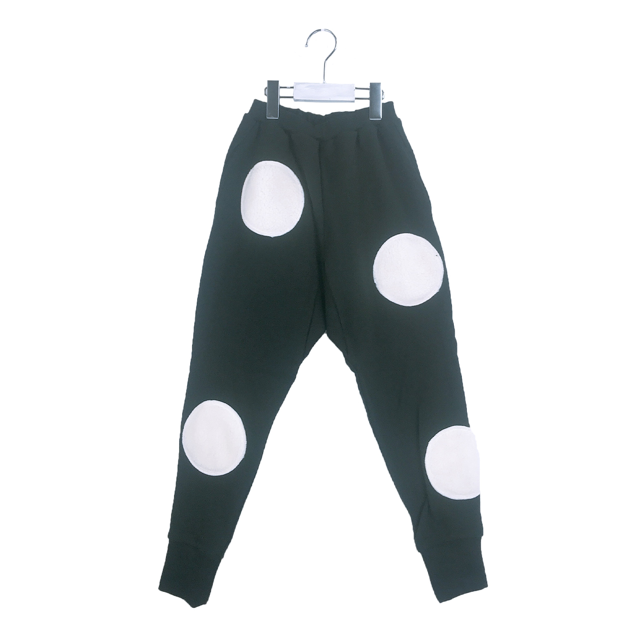 UNEVEN BOA DOTS SWEAT PANTS / S - L