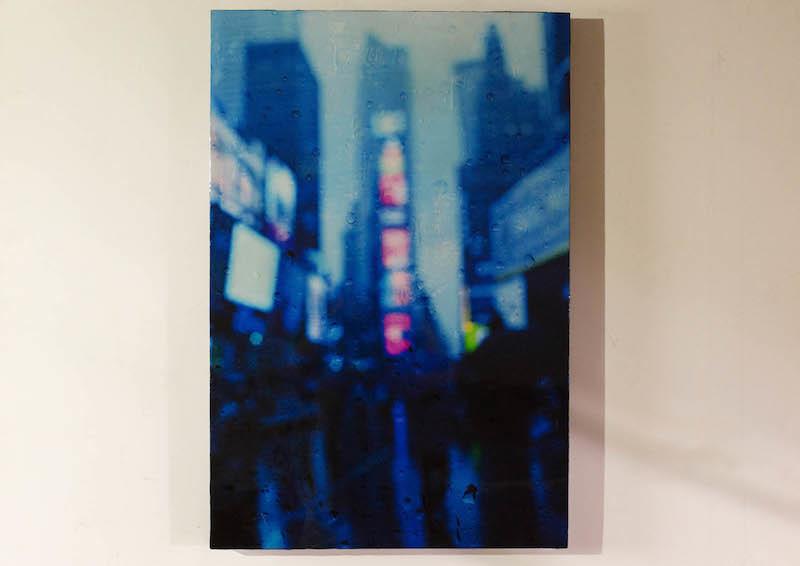 The Rain, New York, Times Square