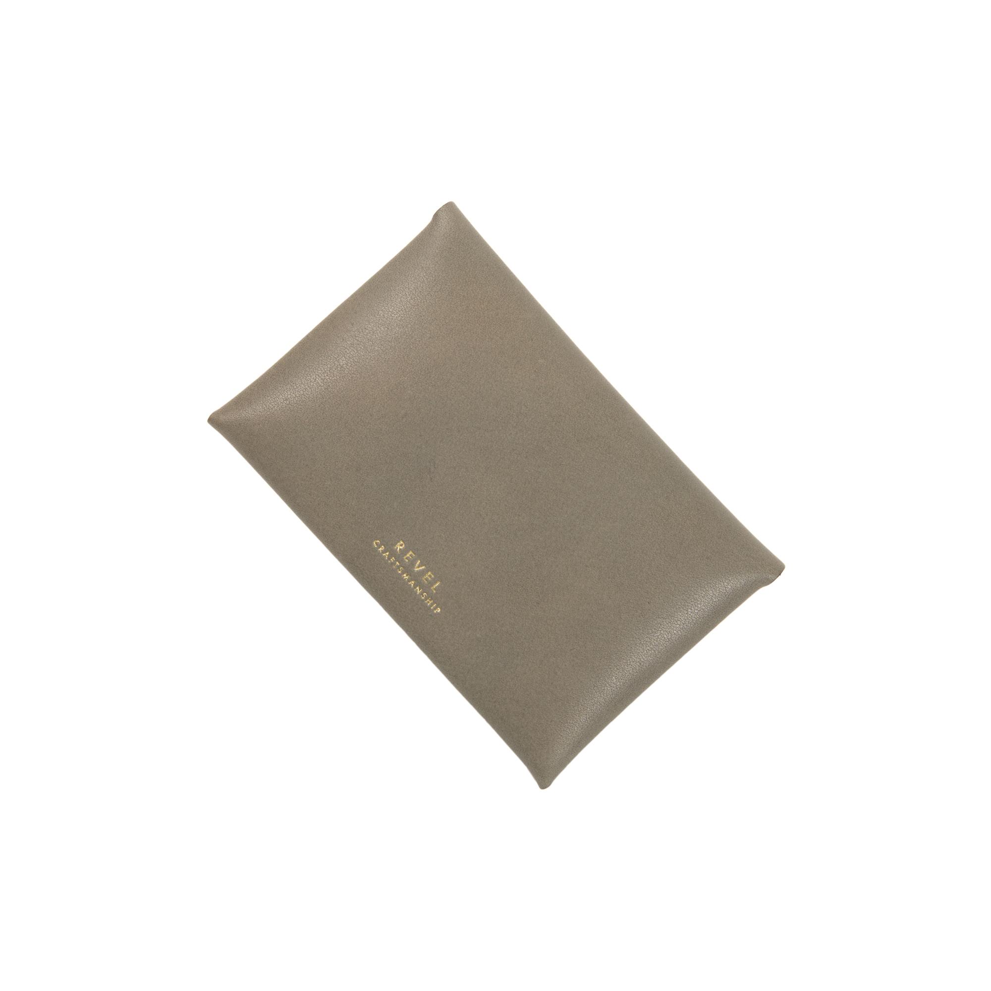 SLIM CARD CASE GRAY [EST OIL]