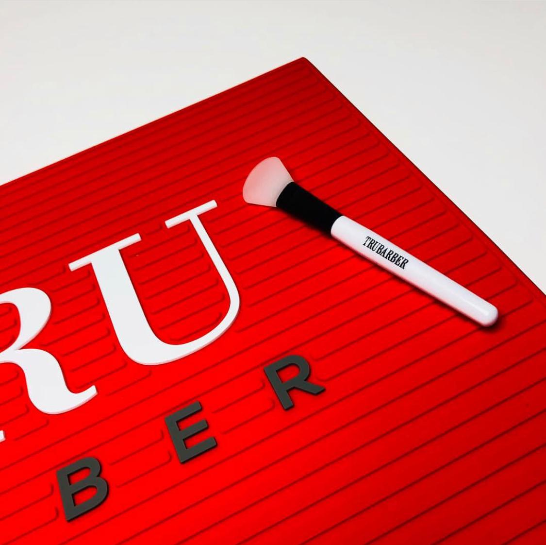 【商品入れ替えのため】【価格改定】TRU BARBER ワークステーションマット レッドxホワイト