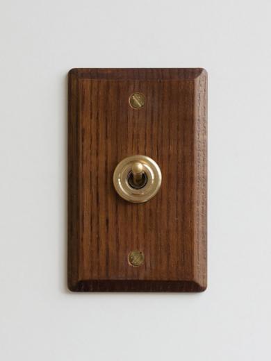 ウッデンプレートスイッチ アッシュ/メープル 【送料無料】