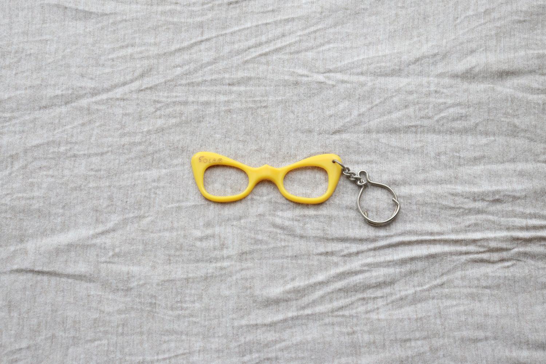 【フランス】メガネのキーホルダー/SOLAR