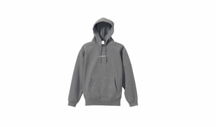 coguchi logo hoodie (gry/wh)