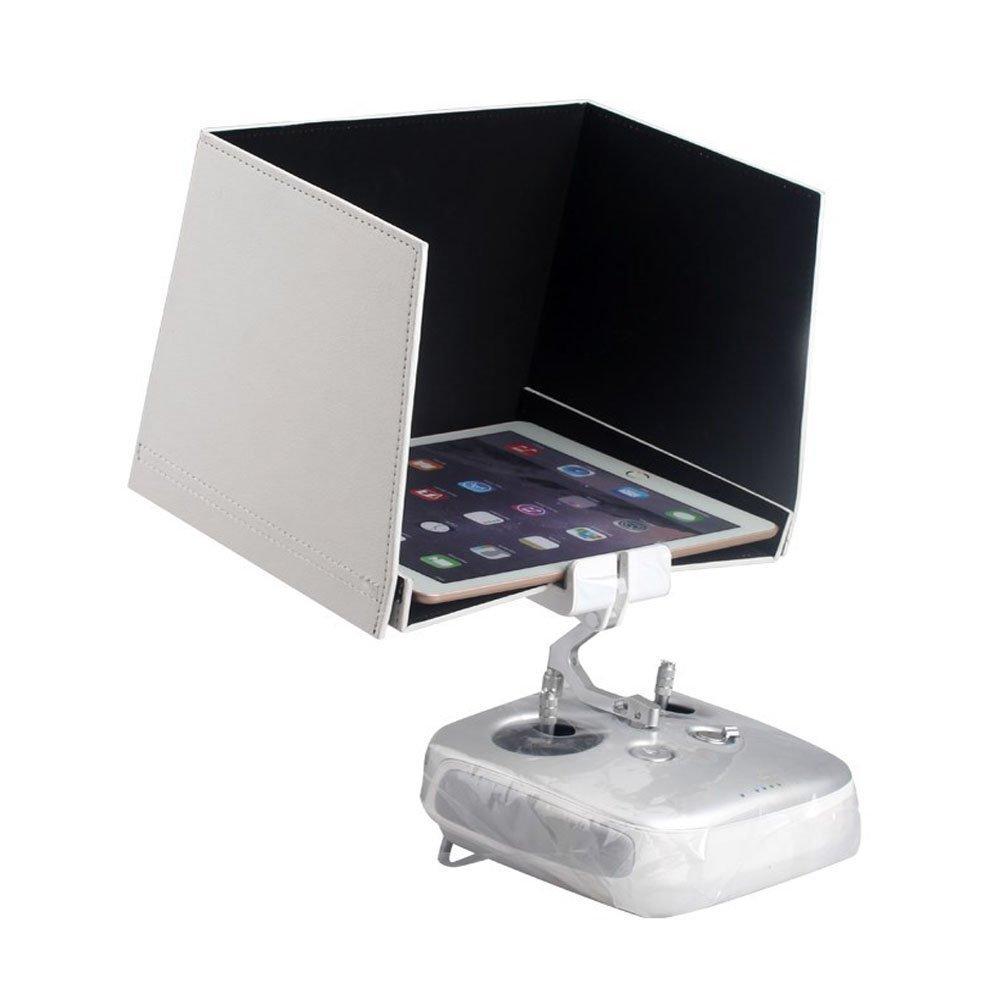 9.7インチ サンシェード モニター日除けフード iPad Air用(最大長9.5インチ、最大対角線6.5インチ)