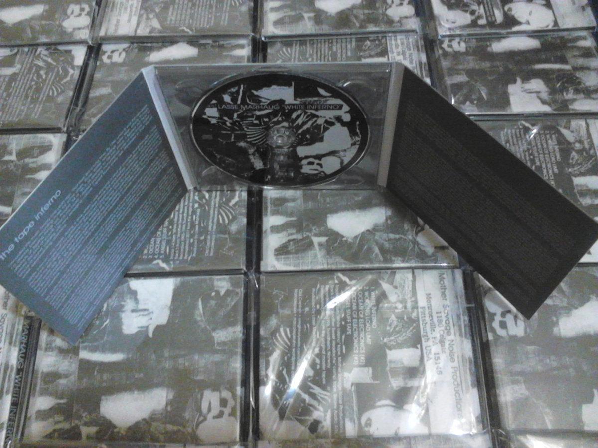 Lasse Marhaug - White Inferno CD - 画像3