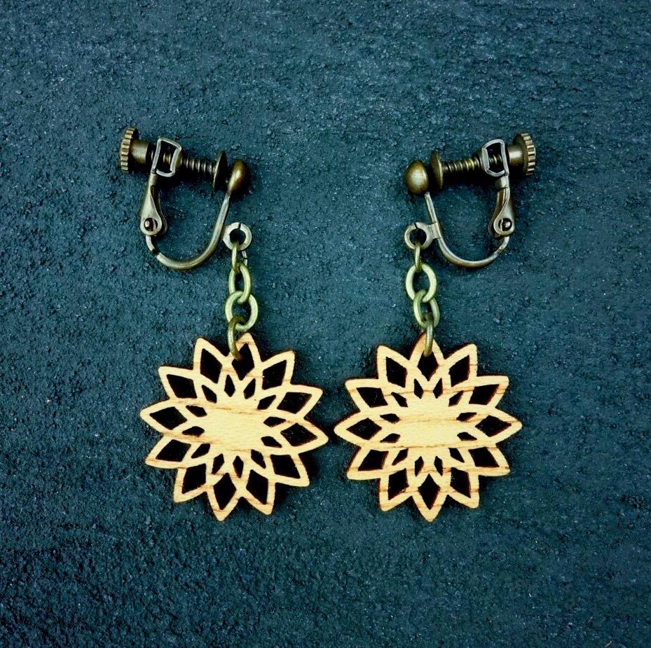 geometric earring EKN-KK