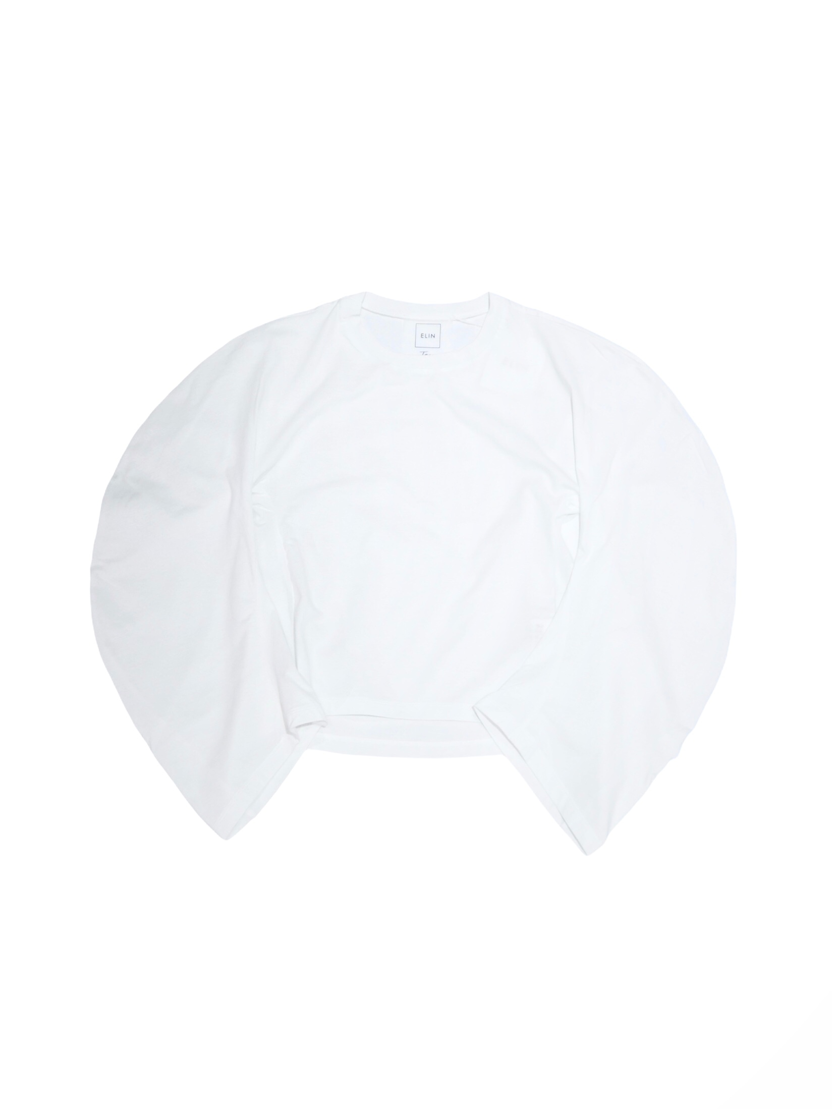 【ELIN】CIRCLE SLEEVE TOP