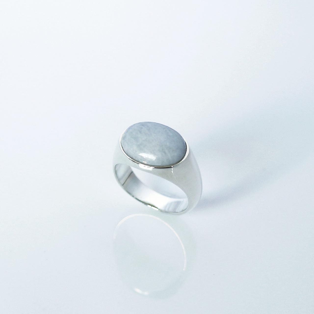 HISUI 'EN'  / Ring (Greyish Lavender)